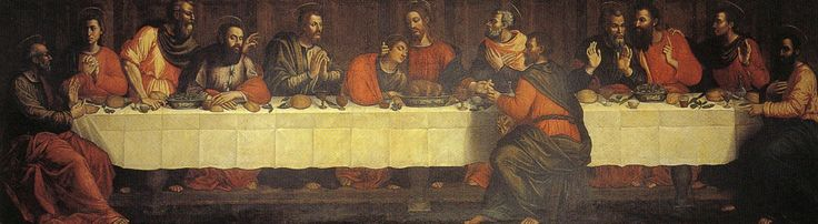 Sour Plautilla Nelli - The Last Supper - Suor Plautilla Nelli (1523-1588) was born into a noble Florentine family. She entered the convent of Santa Caterina di Siena in Florence (which taught painting and sculpting of terracotta figures) in 1538, at the age of 14, and eventually became its prioress, several times.