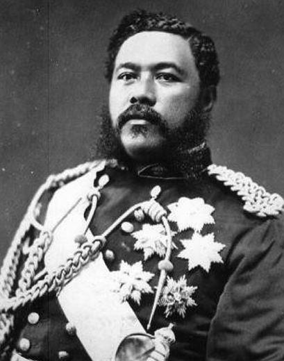 King Kalākaua of Hawaii (1836-1891)