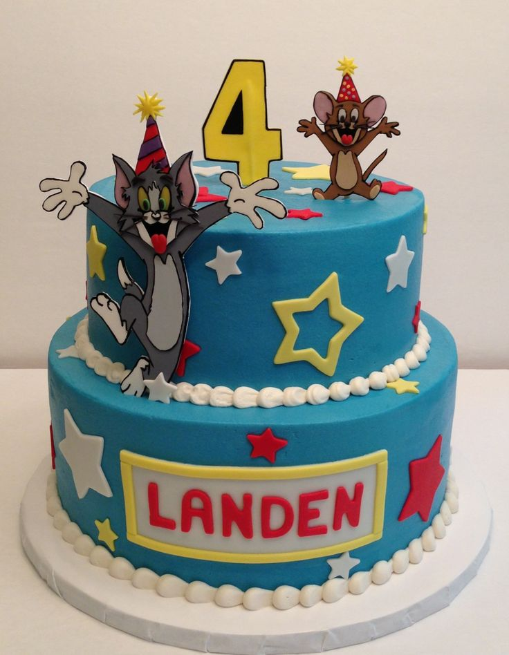 1000 Images About Tom And Jerry Cake On Pinterest