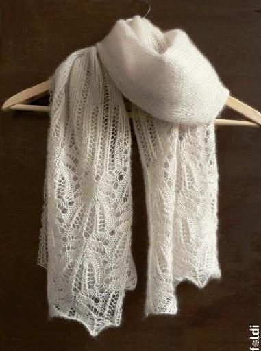 Panna Frost Flower Lace Shawl by Foldi knit - Елена А - Веб-альбомы Picasa