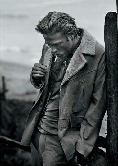 Charlie Hunnam from Sons Of Anarchy...great show that keeps getting better!