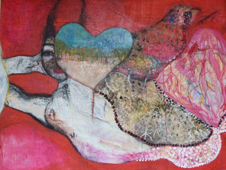 Jennifer Sulaj - Soul of the Desert,  112cm x 90cm H $2100