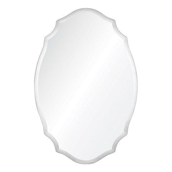 Cooper Classics 41043 Tia Frameless Beveled Mirror in Clear