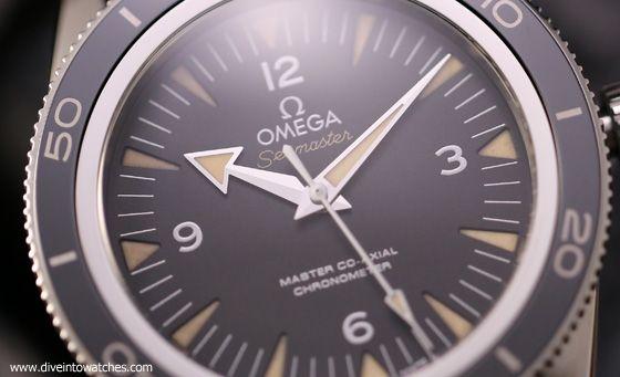 Omega Seamaster 300 Master Co-Axial - Dial CU