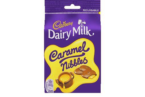 -in USA- Cadbury Caramel Nibbles -120g