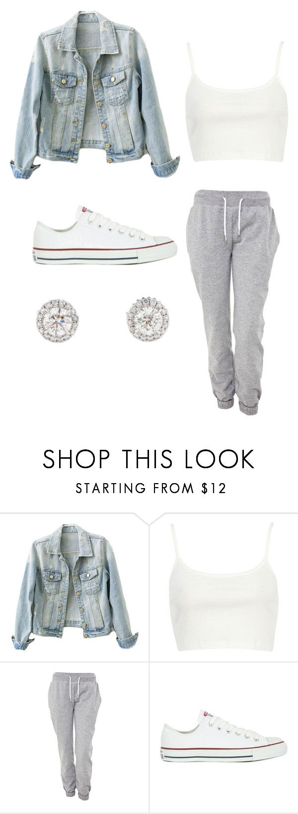 """Body / Dreezy"" by tiaramb11 on Polyvore featuring River Island, White Label and Converse"