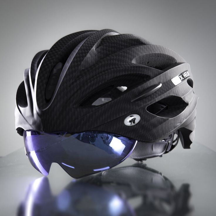 DUX Helm Accessories Blue Reflective Lens