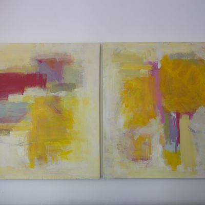 How to Make Abstract Art {Art Painting} - Tip Junkie