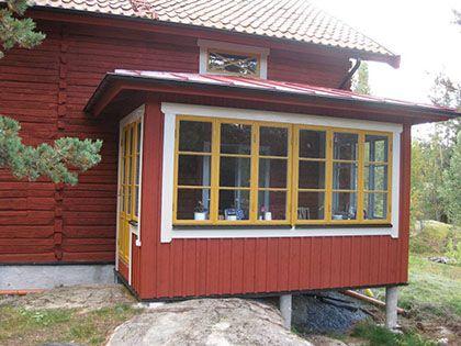 :: design på veranda, färgsättning