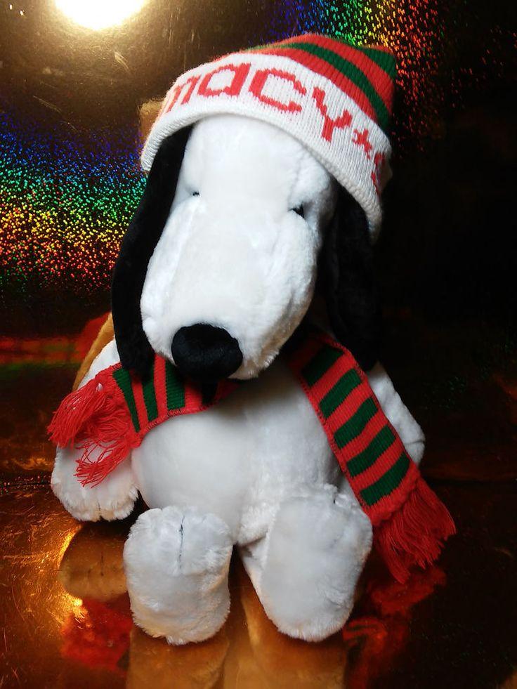 Macys Snoopy Stuffed Animal
