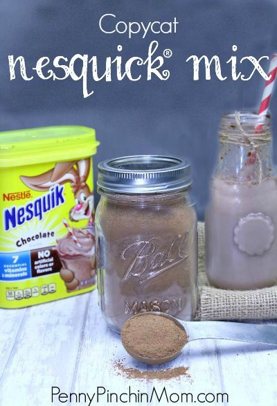 I am never buying this stuff again! Making my own with this copycat Nesquick mix recipe!