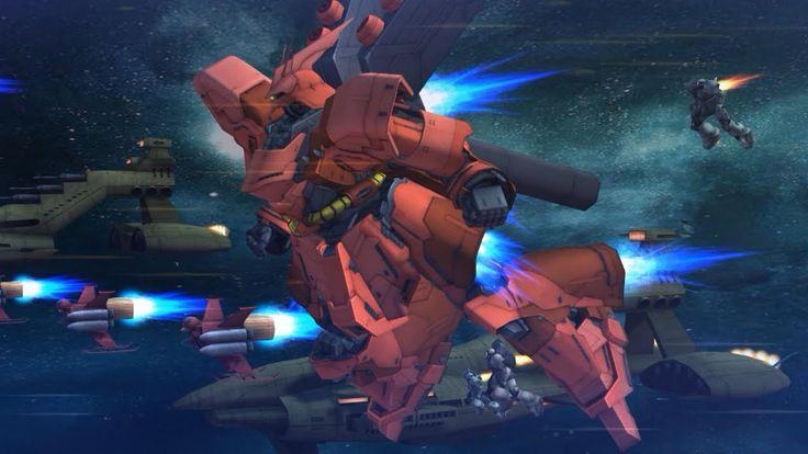 Gundam Online 52vs52 - Zerg Base Race - Full Battle