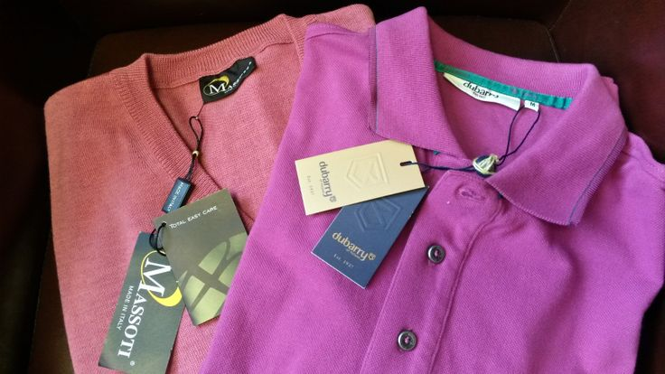 #dontforget the #gents on #Valentines Day with great shirts from #Dubarry & #Massoti