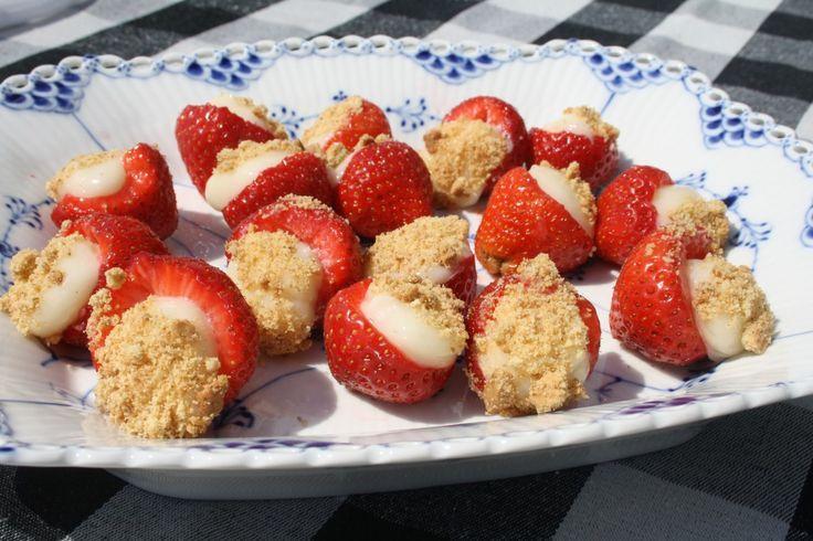 """""""Cheesecake"""" jordbær"""