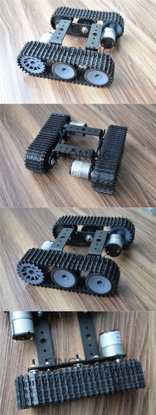 Tanks and Military Vehicles 116077: Aluminum Alloy Tank Robot Chassis 12V Sn5000 Tracked Car Diy Arduino -> BUY IT NOW ONLY: $44.9 on eBay!