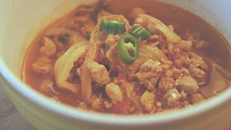돼지고기 김치찌개 만들기 (Pork Kimchi Stew recipe)