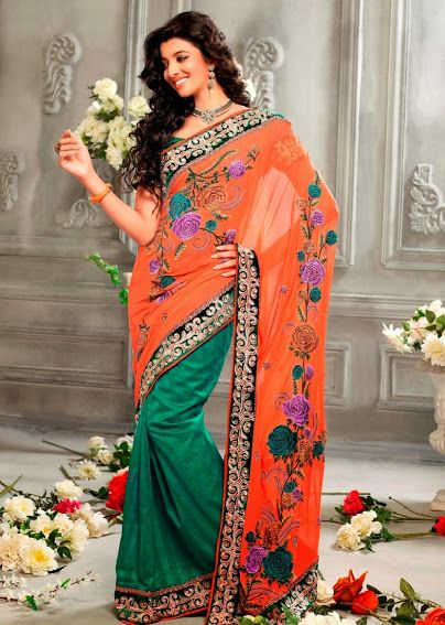 2321.  Prime Georgette Saree   INR 4200/-