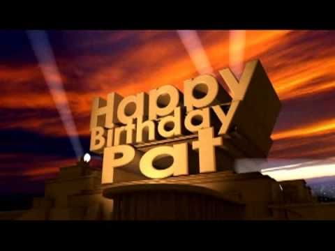 Image result for happy birthday pat