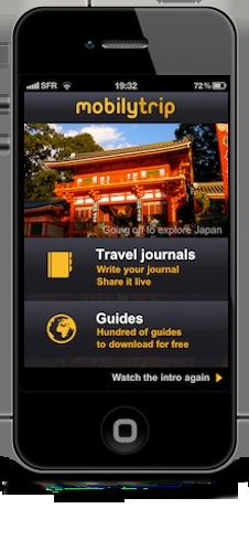 Entreprise innovante : MobilyTrip , partagez vos voyages en temps réel avec vos proches