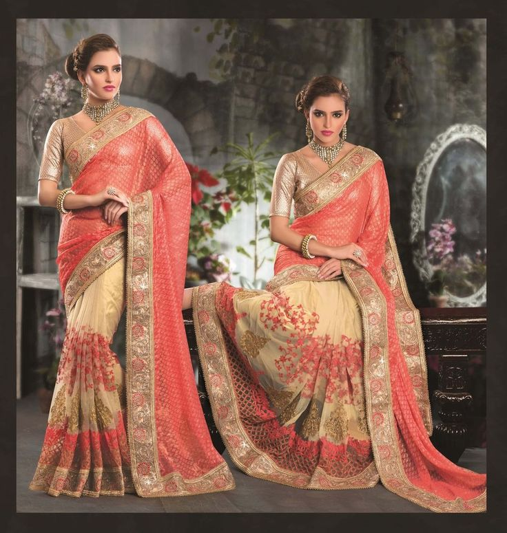 Designer Sari Bollywood Indian Wedding Saree Traditional Pakistani Ethnic 6200 #KriyaCreation
