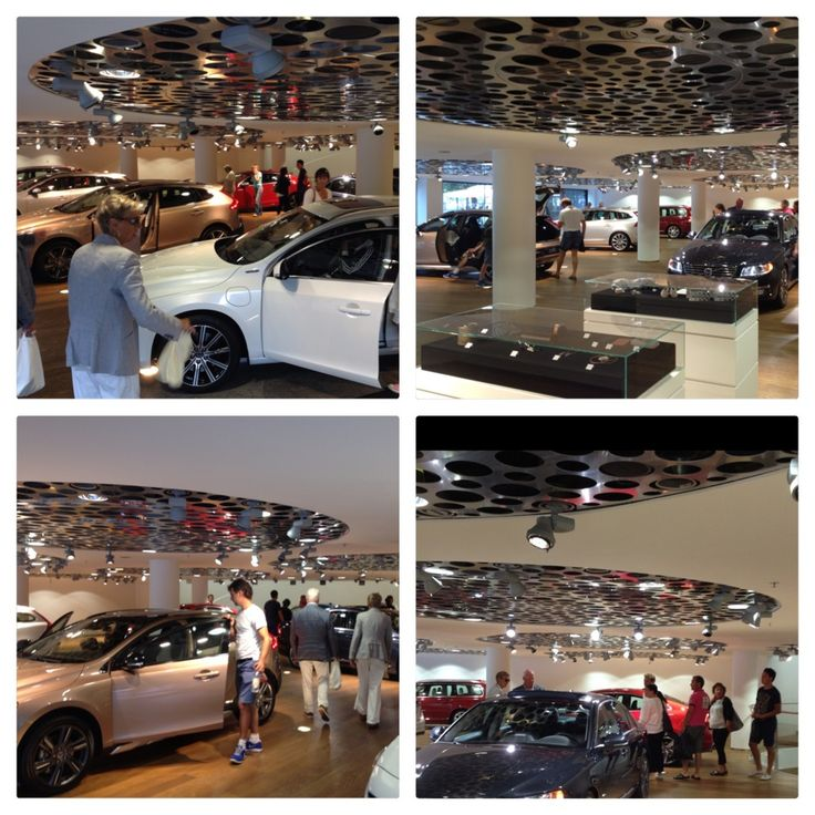 Volvo Cars Showroom modelyear 2014.