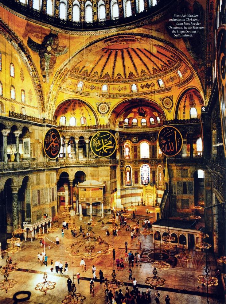 Hagia Sophia, Istabul, Turkey