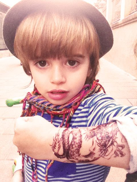 107 best mmxlii babies images on pinterest beautiful for Little kid tattoos