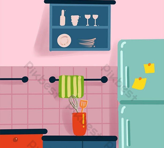 Terkeren 30 Gambar Kartun Dapur Tangan Kartun Merah Jambu Ditarik Dapur Rata Gambar Bahan Download Pemanasan Dapur Gambar Kartun Kartun Tempat Duduk Mobil