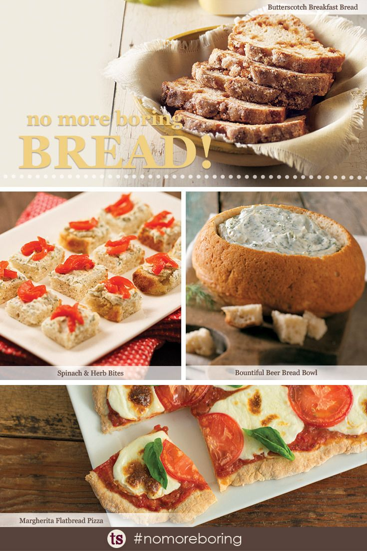 Your bread doesn't have to be boring! Different recipes to use our Bountiful Beer Bread Mix!