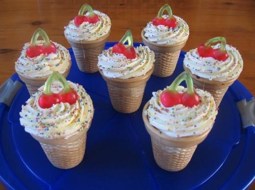 Cake ijsjes
