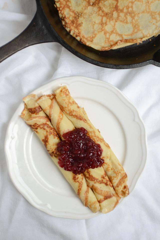 Pannekaker (Norwegian Pancakes) | Recipe at Outside Oslo
