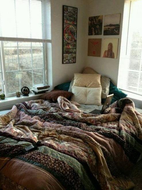 camera da letto bohemien su Pinterest  Arredamento della camera ...