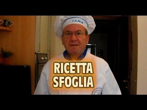 La pasta sfoglia: la video ricetta - YouTube
