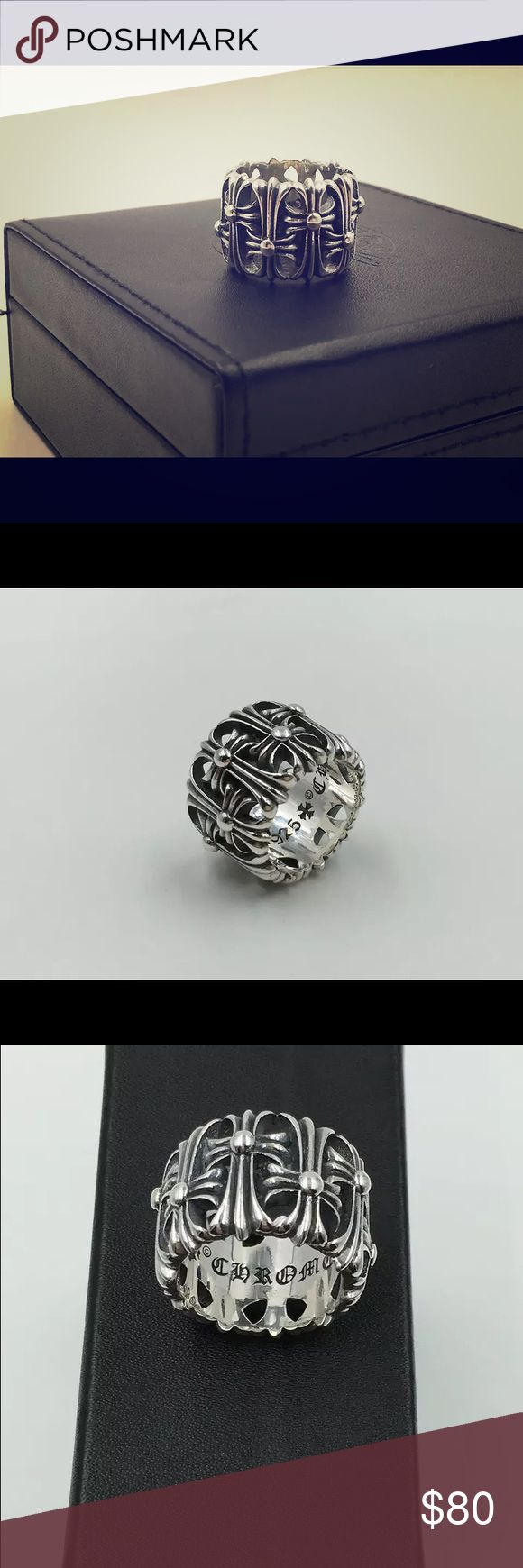 chrome hearts rings new without tags. Chrome Hearts Jewelry Rings