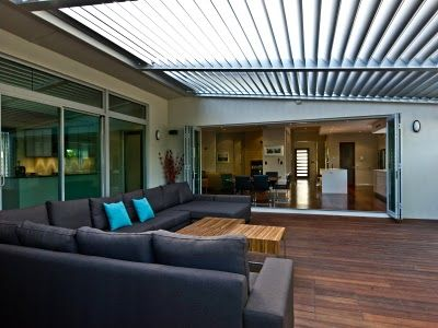 Vergola ..... the fully adjustable louver roofing system for pergolas and patios