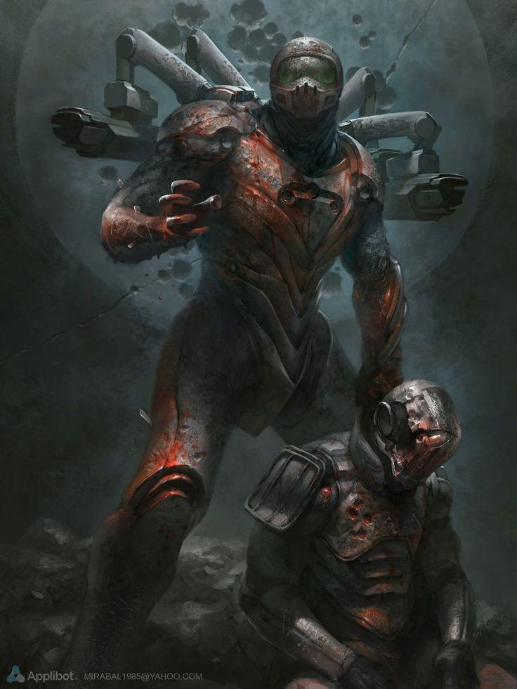 Anti-Hunter by Alejandro-Mirabal.deviantart.com on @deviantART