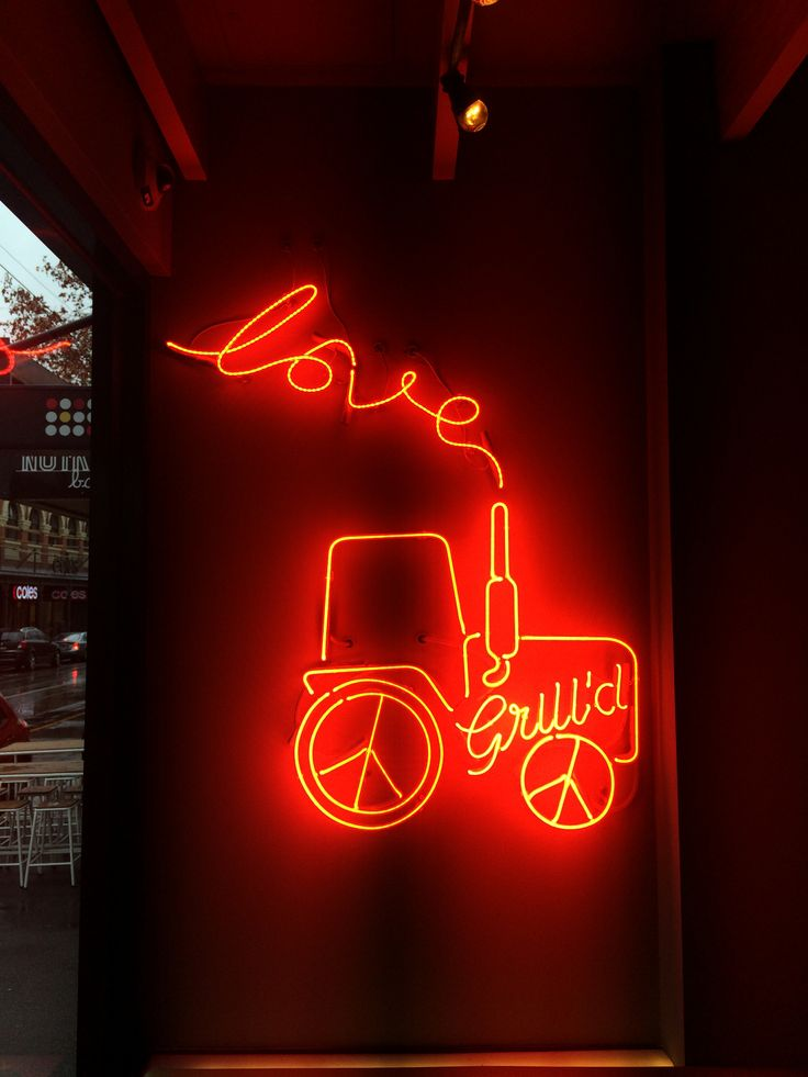 Neon sign by Benga Designs #grilld