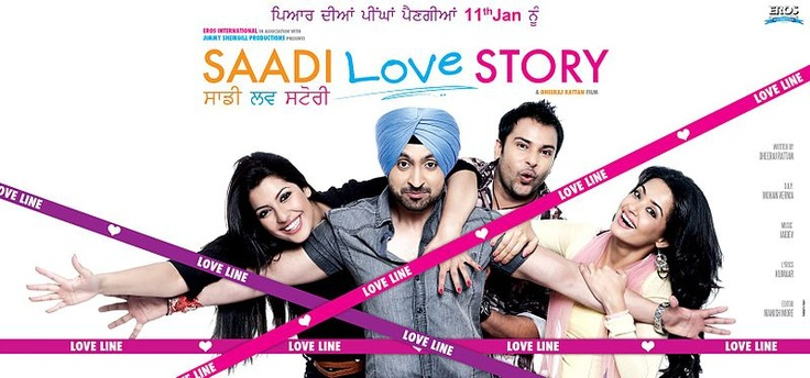 "Saadi Love Story is an upcoming Punjabi Movie starring Amrinder Gill, Diljit Dosanjh, Surveen Chawla,Jaswinder Bhalla, Rana Ranbir and Binnu Dhillon. Music Diected by Jaidev Kumar,The shooting of ""Saadi Love Story""  was done in Canada began in May 2012. Dheeraj Ratan is directing the movie & Jimmy Shergill is the co-producer. Story and Screenplay are…"