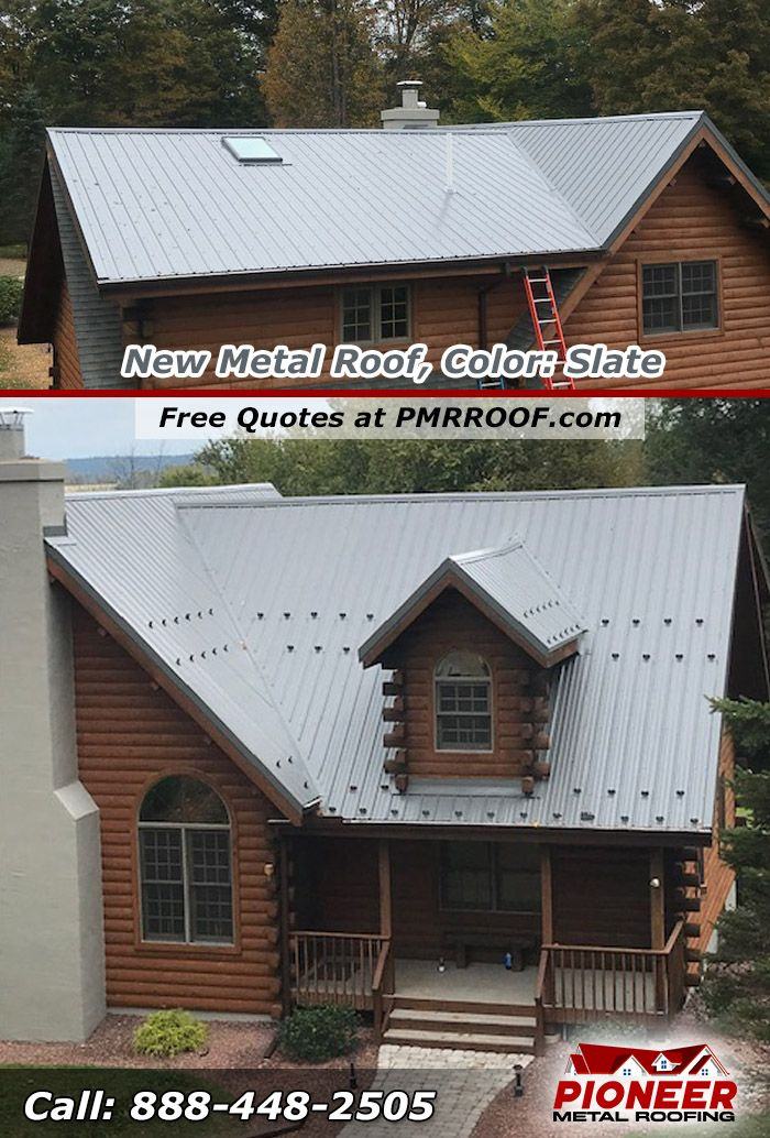 Slate Metal Roof Metal Roof Roofing Pole Buildings