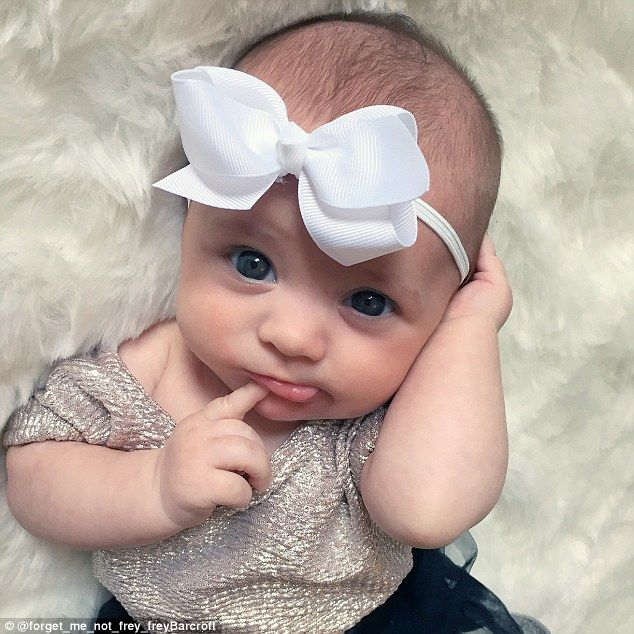Freya has become a representative for  baby clothes companies who send her clothes to mode...