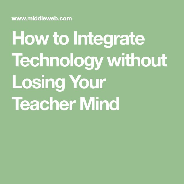 how to integrate technology I will enjoy working and learning along with the students i believe it will be important to be honest about the things i do not know and allow students to show me what they do know this will encourage them and give them self confidence.