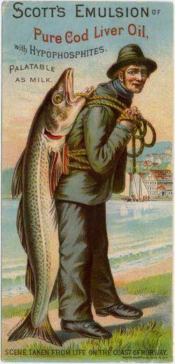Emulsion de bacalao