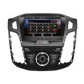 2 Din 2012 2013 Ford Focus Carro estéreo navegação GPS Multimédia Sistema de Auto A/V HD Ecrã Tátil Rádio RDS leitor de DVD Música Bluetooth AUX IPod Iphone USB SD MP3 Backup Câmera