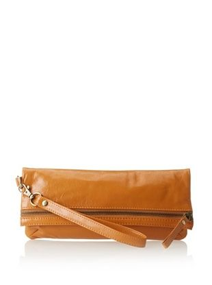 63% OFF Latico Women's Eileen Clutch/Wristlet, Saddle