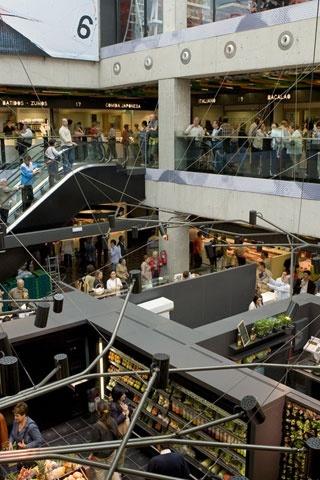 Mercado San Antón. Mercado Gourmet en Augusto Figueroa, 24
