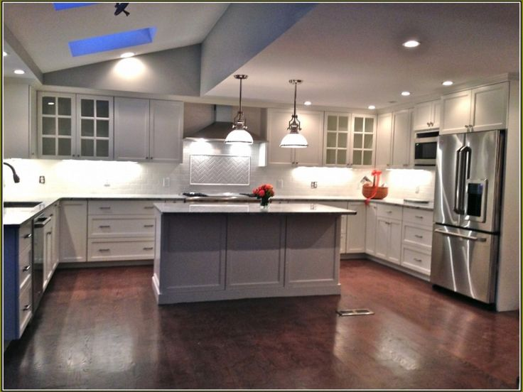 unfinished kitchen cabinets lowes in 2020 | affordable