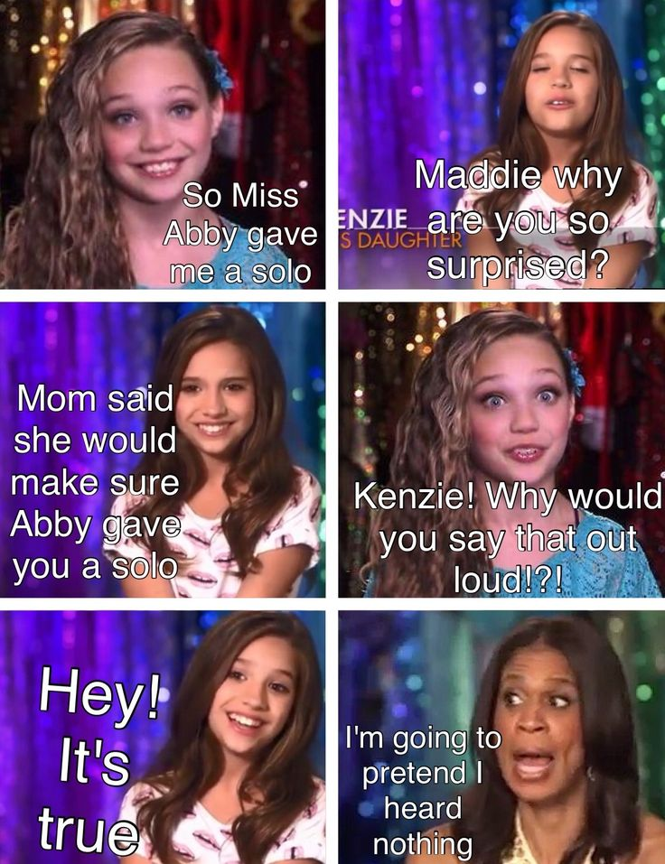 Dance moms comic made by @44QueenO44