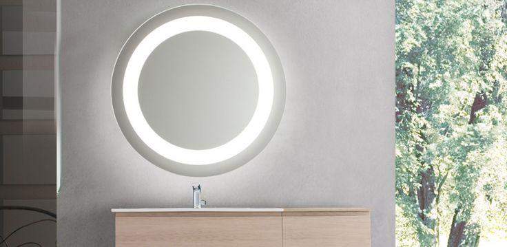 La Veneta Termosanitaria S.r.l. - - Specchiere bagno - Specchiera da bagno led Orion tonda by Vanità & Casa