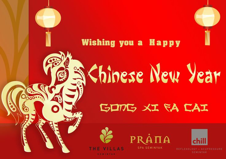 The Villas wishes all our friends a very happy Chinese New Year- Gong Xi Fa Cai!