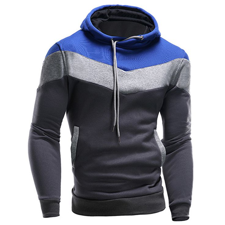 Buy New 2016 Hoodies and Sweatshirts Patchwork Hoodies at ZuggaTea for only  $26.62